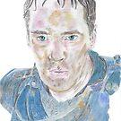 Benedict Cumberbatch - Richard III von Deelectableart