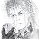 David Bowie - Labyrinth von Deelectableart