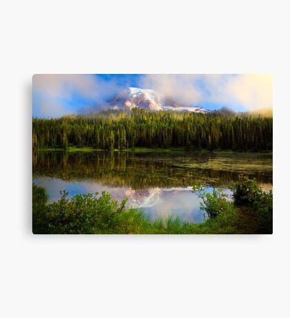 Misty Reflection Canvas Print