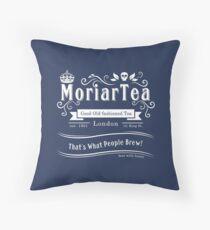 MoriarTea 2014 Edition (white) Throw Pillow