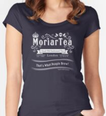 MoriarTea 2014 Edition (white) Women's Fitted Scoop T-Shirt