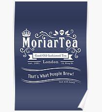 MoriarTea 2014 Edition (white) Poster