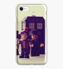 don't blink wink or flutter those eyes iPhone Case/Skin