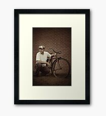 In The Eyes of the Hungry Framed Print