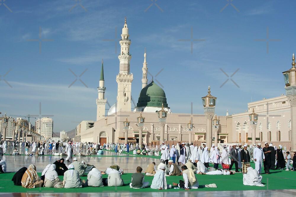 nabawi mosque in medina saudi arabia by tmyusof redbubble