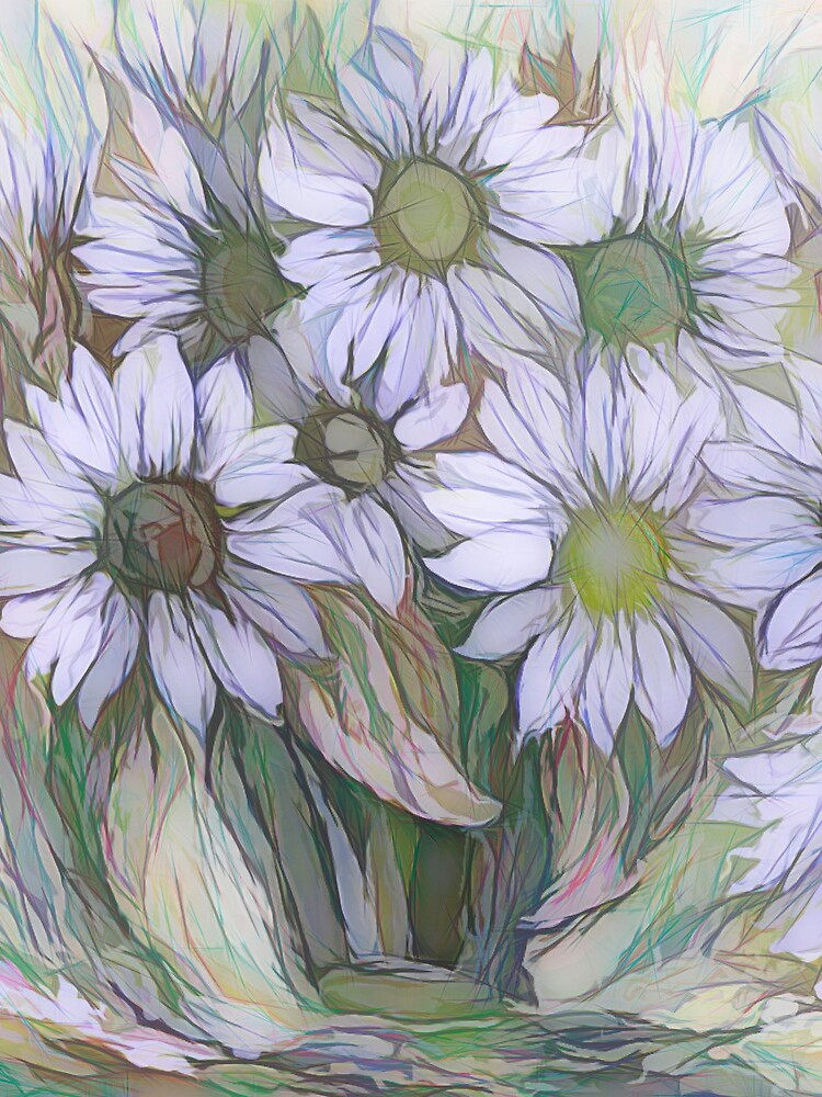Blumendekor von OLena Art von ArtOLena