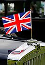 Morris Oxford & Union Flag by David Carton