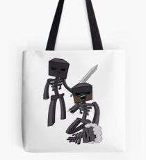 The Wither Skeleton Family Tote Bag