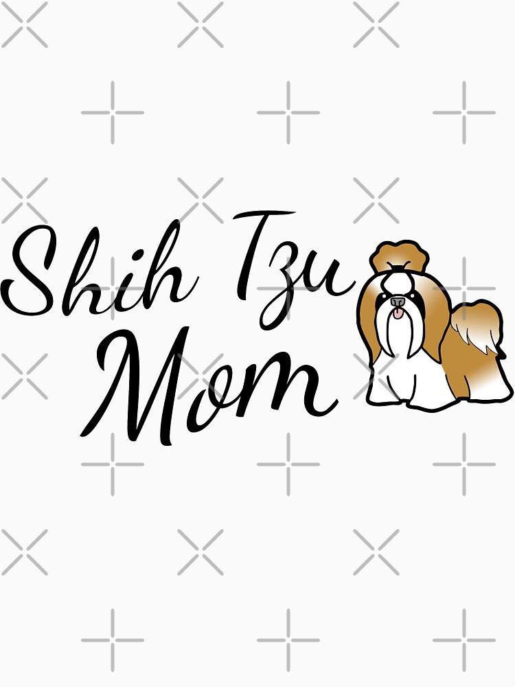 Shih Tzu Mom by tribbledesign