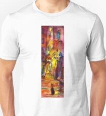 Medieval alley by night in Florence T-Shirt