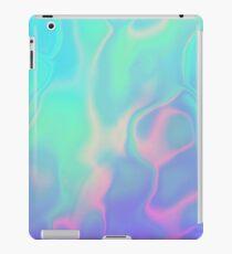Vinilo o funda para iPad Iridiscencia holográfica del mar del arco iris