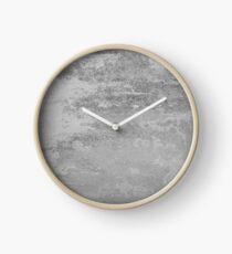 Konkrete Beschaffenheit feste graue graue Farbe Uhr