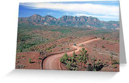 Bunyeroo Valley, Flinders Ranges, South Australia by Adrian Paul