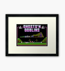 Ghosts n Goblins  Framed Print