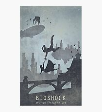 Bioshock Infinite Game Poster Photographic Print