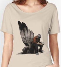 The Angel And The Skull Women's Relaxed Fit T-Shirt