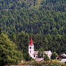 Grisons Country's Church by sstarlightss