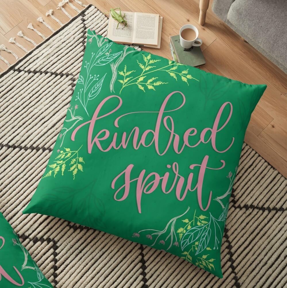Kindred spirit - Anne of Green Gables Floor Pillow