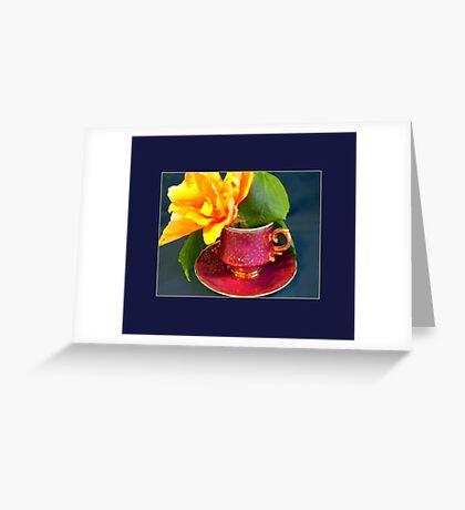 Demitasse, Ornate Greeting Card