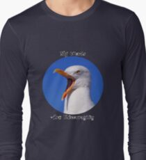 Encouraging Words Seagull Long Sleeve T-Shirt