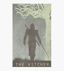 The Witcher Game Poster Photographic Print