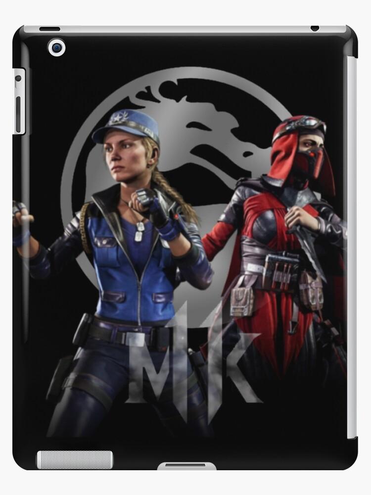 Sonya Skarlet Mortal Kombat 11 Ipad Case Skin By Guccimania