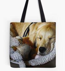 Sleepy Mia Tote Bag