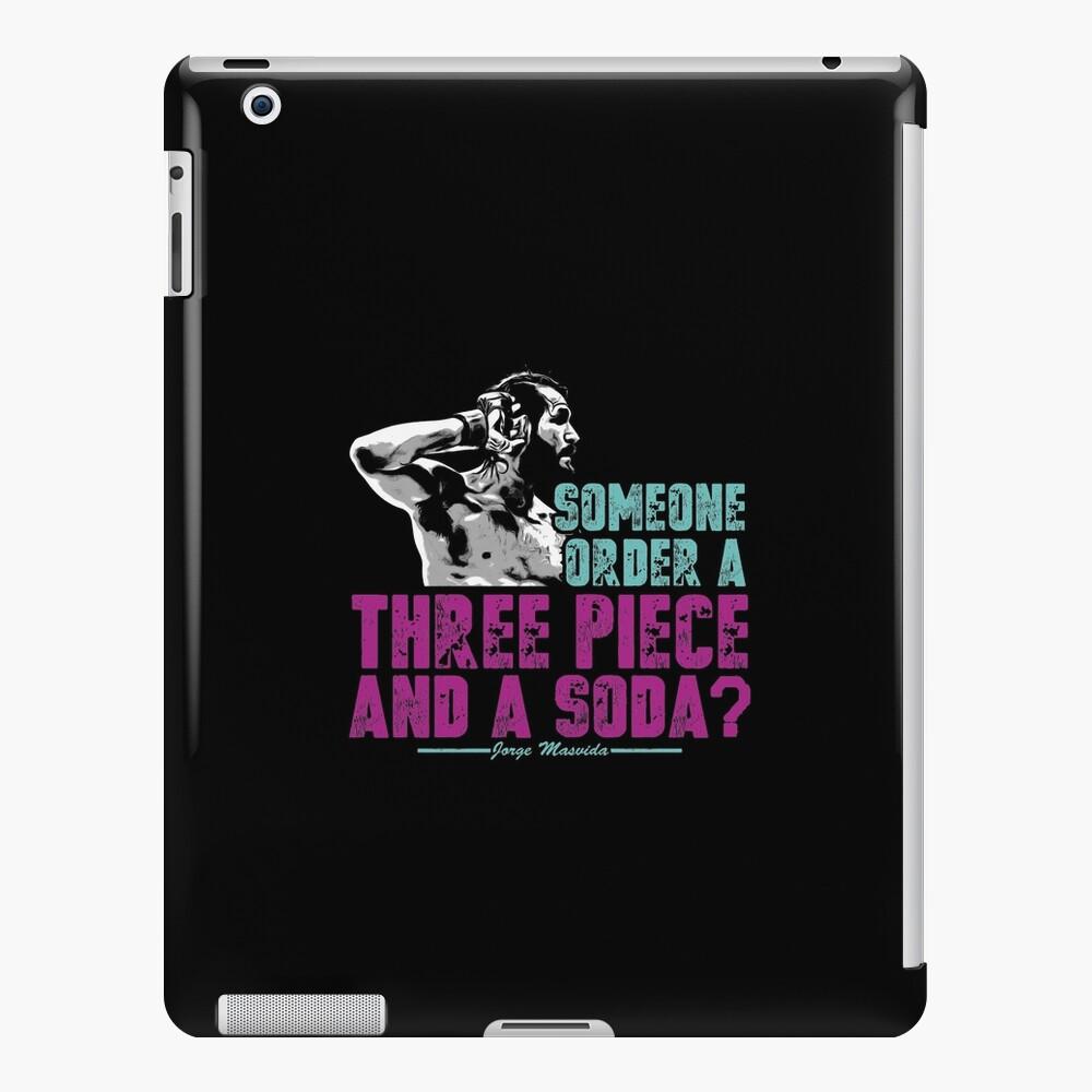 Jorge Masvidal - Drei Stücke Und Ein Soda iPad-Hülle & Skin