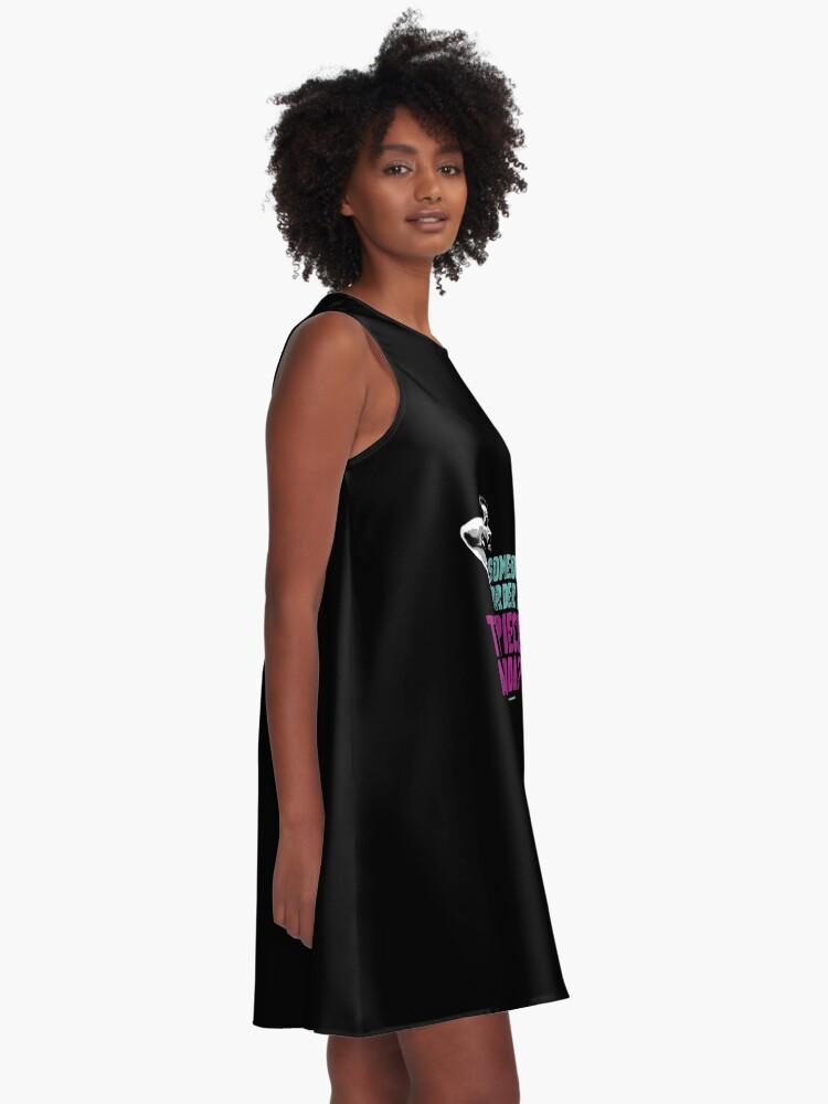 Alternative Ansicht von Jorge Masvidal - Drei Stücke Und Ein Soda A-Linien Kleid