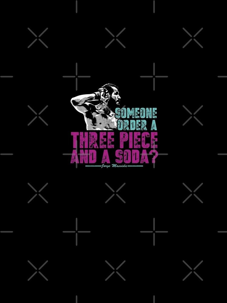 Jorge Masvidal - Drei Stücke Und Ein Soda von FlorenceFlo