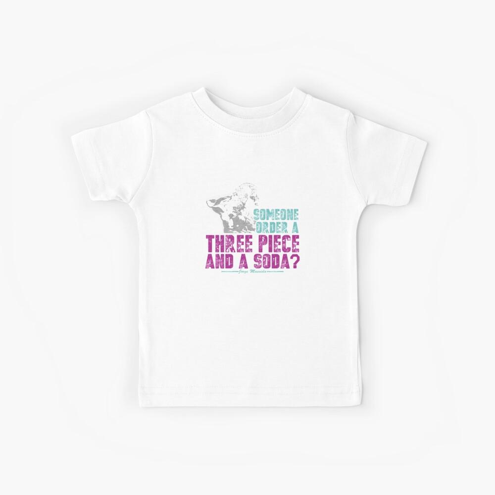 Jorge Masvidal - Drei Stücke Und Ein Soda Kinder T-Shirt