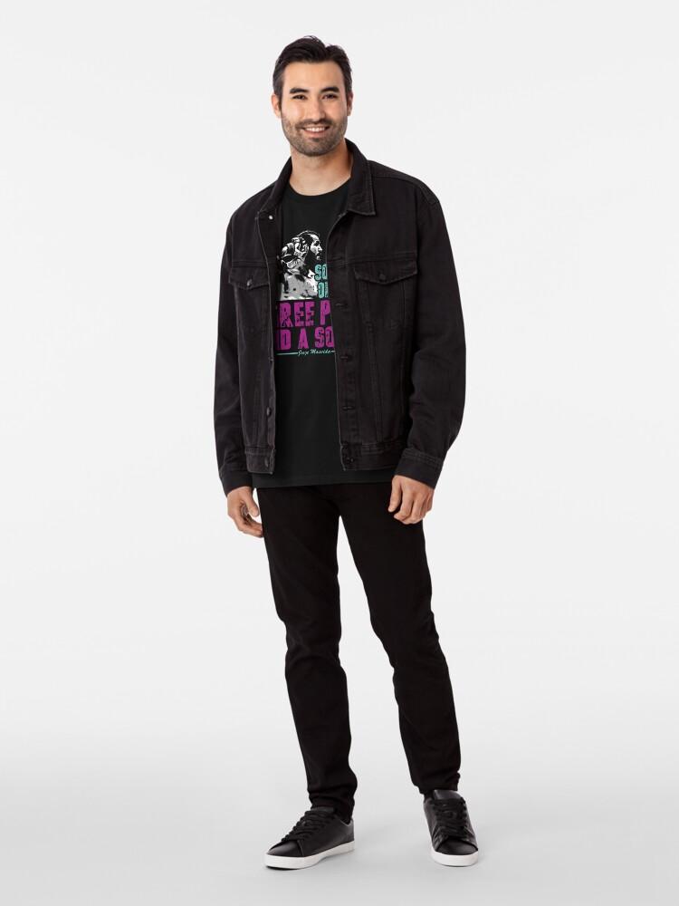 Alternative Ansicht von Jorge Masvidal - Drei Stücke Und Ein Soda Premium T-Shirt