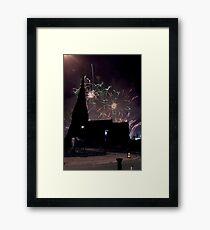 Blackheath Fireworks Framed Print