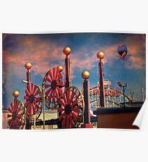 Luna Park, Brooklyn, New York Poster