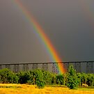 Double Rainbow Bridge by eleveneleven