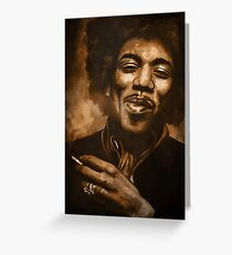 Jimi 2 Greeting Card