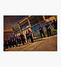 Cop Heavy Photographic Print
