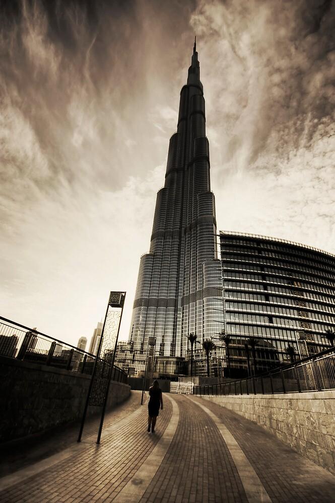 Burj Khalifa by springwatcher