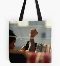 Hung Out to Dry Tote Bag