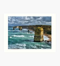 The Apostles HDR Art Print