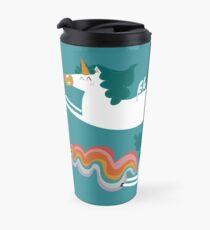 Taza de viaje Unicorn fart