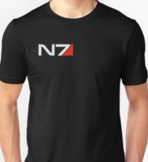 Camiseta ajustada Mass Effect, emblema N7