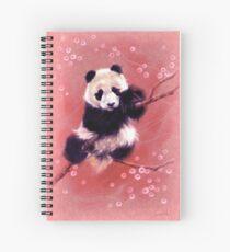 Cuaderno de espiral Panda