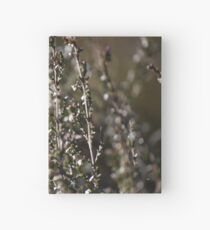 Winter-bleached Heather Hardcover Journal