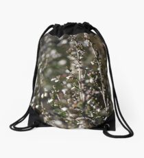 Winter-bleached Heather Drawstring Bag
