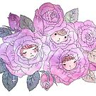 Rose Buds (Pastel) by CleoLant