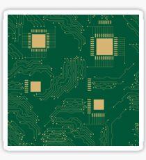 Microcircuit Sticker