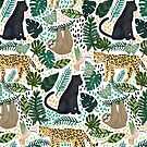«Animales de la selva tropical esmeralda» de Tangerine-Tane