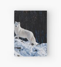 Arctic Wolf Hardcover Journal