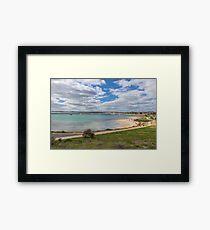 Marina, Geraldton, Western Australia 2 Framed Print